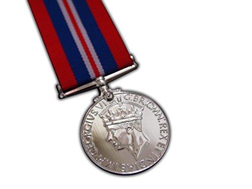 1939-45Krieg Medaille voller Größe British MIILITARY Award 2. Weltkrieg Repro für Navy Armee RAF (Medaillen Krieg)