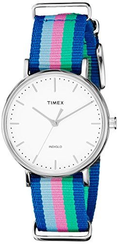 Timex Weekender Fairfield Analog White Dial Women's Watch - TW2P91700AA  available at amazon for Rs.3895