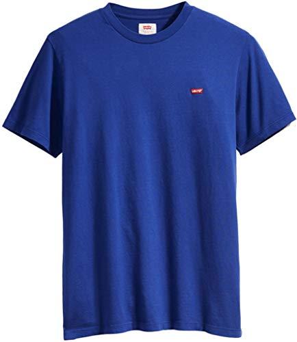 Levi's Herren SS Original HM Tee T-Shirt, Blau (Sodalite Blue 0024), Small (Herstellergröße: S) (Herren-designer-t-shirts)