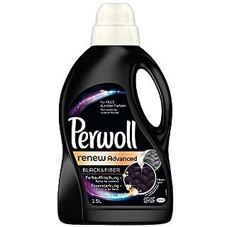 Perwoll Black Renew Advanced Schwarz & Faser Waschmittel flüssig (2 x 1,5L)