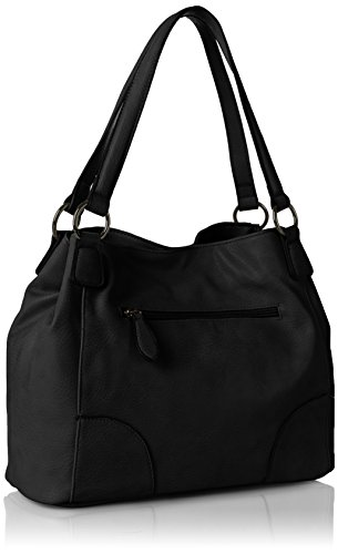 Betty Barclay Damen Bb-1193-Ag Schultertasche, 15x27x36 cm Schwarz (Black)