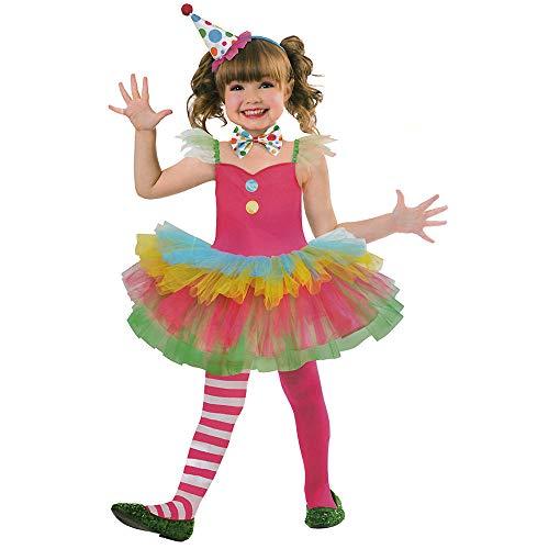 Clown Kinder Kostüm - AMSCAN EUROPE GMBH Kinder Clown Kostüm (122/128)