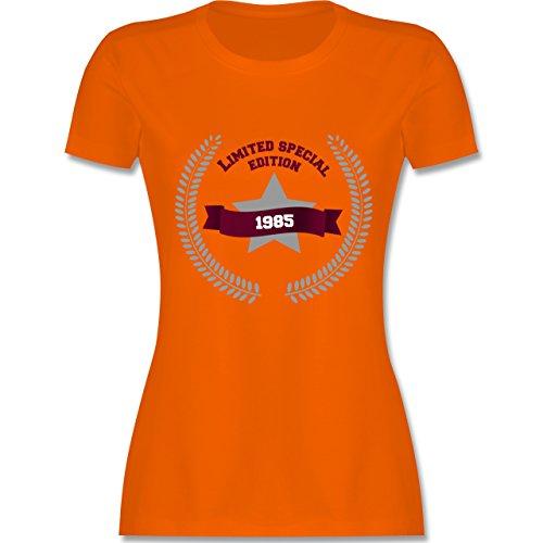Geburtstag - 1985 Limited Special Edition - tailliertes Premium T-Shirt mit  Rundhalsausschnitt für Damen