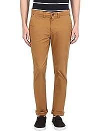 Urban Eagle By Pantaloons Men's Cotton Spandex Pants