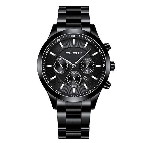 XZDCDJ Quartz Uhr Herren Digital Armbanduhr Herren