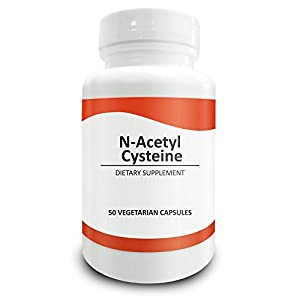 Pure Science N-Acetyl Cysteine 700mg - NAC Supplement with Highest Dosage in Amazon - Natural Immunity, Detox, Glutathione Production Support - 50 Vegetarian Capsules of N-Acetyl Cysteine powder