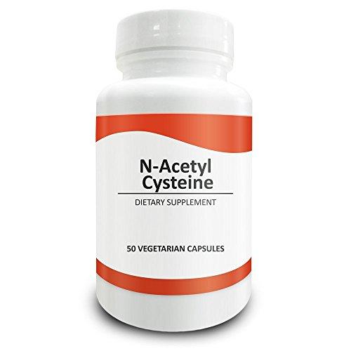Pure Science N-Acetyl-N-Acetyl Cystein 700mg - nac Beilage mit der höchsten Dosierung bei Amazon - natürliche Immunität, Entgiftung, die Unterstützung der Produktion von Glutathion - 50 vegetarische Kapseln von N-Acetyl-N-Acetyl Cystein Pulver