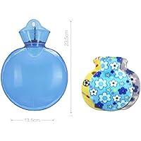 XQ Dicker PVC Wassereinspritzung Heißwassertasche Runde Warmwassertasche ( Farbe : 1 ) preisvergleich bei billige-tabletten.eu