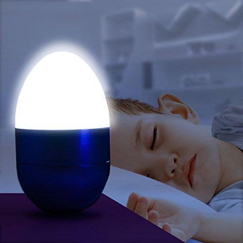 Out of the Blue 579635 - Veilleuse avec 5 LED, Wobble env. 6,5 cm Couleurs assorties
