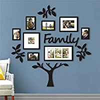 Happy little sheep EX Large Family Tree Photo Frame Pictures Collage Stickers Decals Home Wall Decor Home Decor Art Decal Sticker Family Tree Photo Framed (177*179cm)
