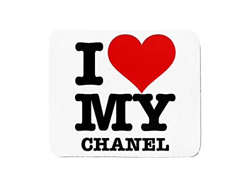 Mousepad with I LOVE MY CHANEL Test