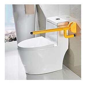 MLMYSFS Handläufe Für Badezimmer, Gelbe Handläufe Für Toiletten, Ältere Behinderte Toiletten, Toilettenstangen, Griffe, Toiletten, Aufzüge, Booster, Toiletten Für Badezimmer, Sicherheitsgeländer