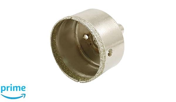 Punta per trapano sega a tazza diamantata per ceramica vetro e