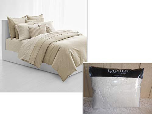 Lauren Ralph Lauren Graydon Melange Bettwäsche-Set für Doppelbett/Queensize-Bett - Lauren-cover-set Ralph