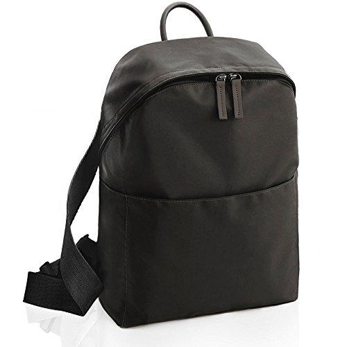Kleiner Rucksack Damen 25L, Airlab Laptop Rucksack Damen Tasche für Freizeit, Sport und Schule, Wasserabweisend, Schwarz