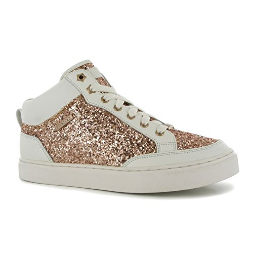 Senhoras Sneaker White Hi Esportivos Top Brilhante Firetrap Moda De Off Calçados Alegria 58nTwgRxw