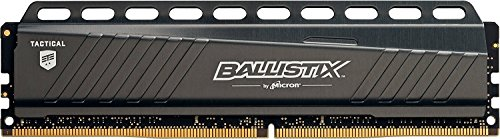 Ballistix Tactical BLT4G4D30AETA 4 GB Memorie, DDR4, 3000 MT/s, PC4-24000, SR x8, DIMM, 288-Pin