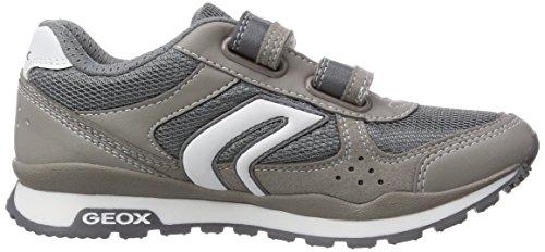 Geox J PAVEL A Jungen Sneakers Grau (GREY/WHITEC0579)