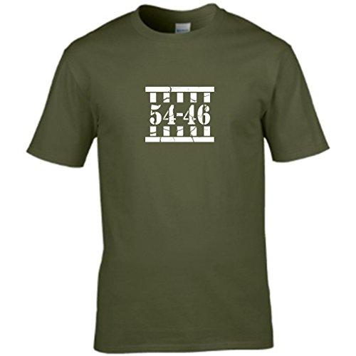 La salita di HOMER - a forma di T-shirt da uomo Verde