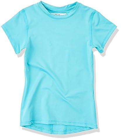 RED WAGON Mädchen Sport-Oberteil, Blau (Turquoise), 7 Jahre