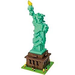 Nanoblock 58514495 - Juego De Construcción Estatua De La Libertad