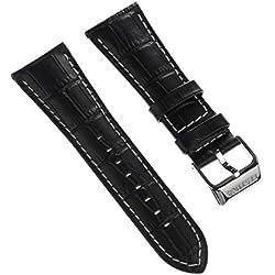 Festina Élégant bracelet de montre en cuir Noir pour montres Festina F16235, F16234
