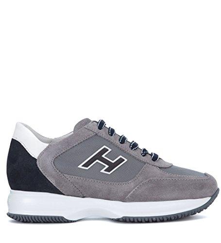 Hogan Sneaker Interactive In Suede Grigio