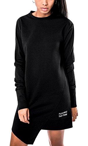 Killstar Kleid MARX JERSEY DRESS schwarz Schwarz