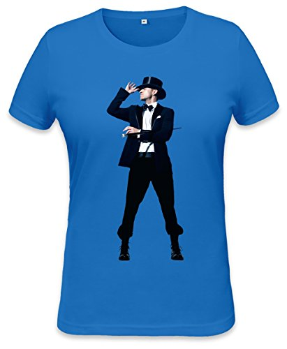American Musician Suit And Tie Womens T-shirt XX-Large Mirro Top