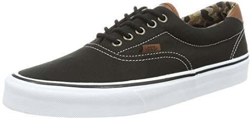 Vans Era 59, Baskets Basses Mixte Adulte Noir (varsity/black/blue)