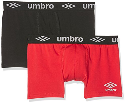 Umbro Herren Sportunterwäsche Boxer Packx2, 2er Pack Mehrfarbig (Multicolor A11)