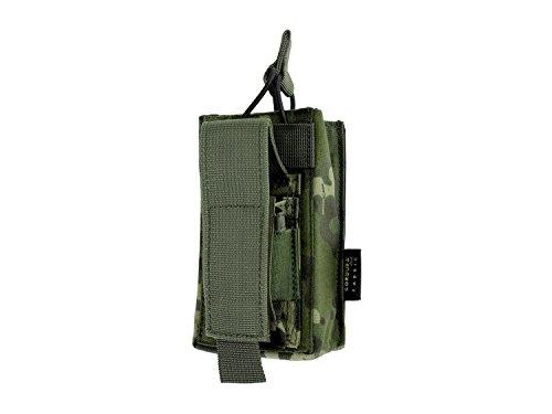 BE-X Kombi-Magazintasche für CQB, MOLLE, für je 1 G36 u. Pistolen Magazin - multicam tropic
