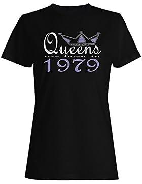 Nuevas reinas de diseño artístico nacen en 1979 camiseta de las mujeres b615f