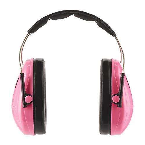 3M H510AKPC Peltor Kid Cuffia Anti-Rumore, per Bambini, Colore Rosa Fluorescente