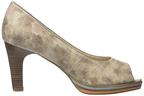 Marco Tozzi Premio Damen 29300 Pumps Beige (cream Multi 445)