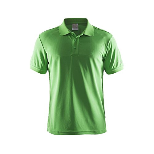 Craft Herren Poloshirt Polo Pique Classic craft green