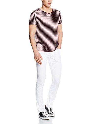 Meltin'Pot Herren Slim Jeans Maner Blanc
