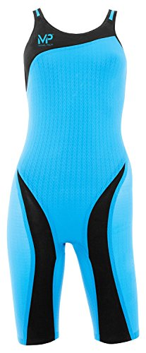 MP Michael Phelps XPRESSO Kneeskin Blue/Black Size 32