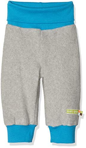 loud + proud Baby - Unisex Hose Fleece, Grau (Grey Gr), 92