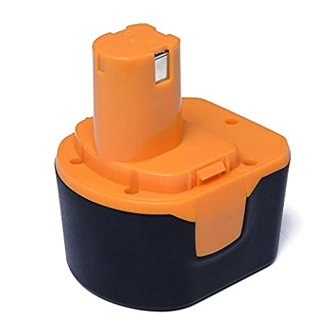 Masione 12V 2.0Ah Power Tool Replacement Battery for Ryobi 1400652 1400652B 14006700652 1400652B 1400670