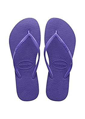 Havaianas Women's Slim Flip Flops, Purple (Purple 9461), 1.5 UK