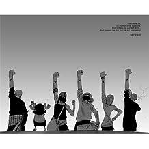 One Piece Luffy Poster On Silk <44cm x 35cm, 18inch x 14inch> - Cartel de Seda - B07CFE