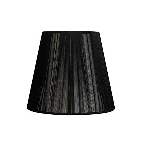 Mi Lampara - Pantalla Conica Hilo Indira E27 Negra (30x15x20)