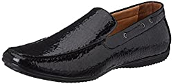 Bata Mens Tywin Black Loafers and Moccasins - 7 UK/India (41 EU)(8516313)
