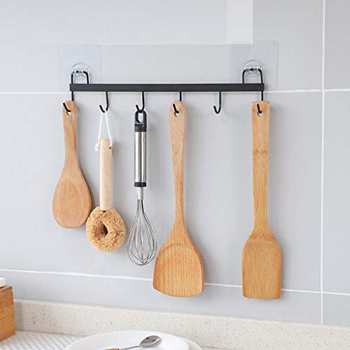 Rifuli® Klebehaken Handtuchhalter Haken Selbstklebend Küchenhandtuch Saugnapf Haken Starke Aufhänger Halter Klar Bad Sucker Wall