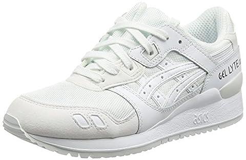 Asics Gel-lyte Iii, Chaussures de Running Compétition mixte adulte, Blanc, 39 EU