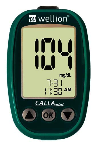 Wellion CALLA Mini Set petrol mmol/l
