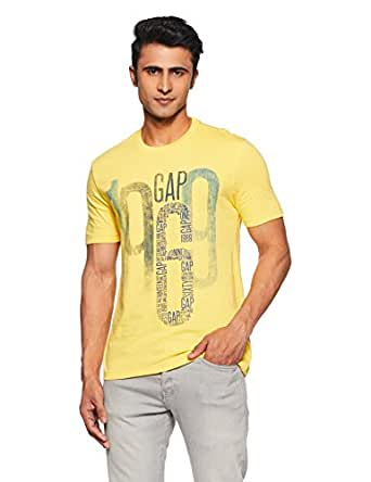 GAP Gap Logo Remix Short Sleeve Crewneck T Shirt For Men's