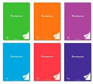 Pacsa - Cuaderno grapado de 50 Hojas (20080)