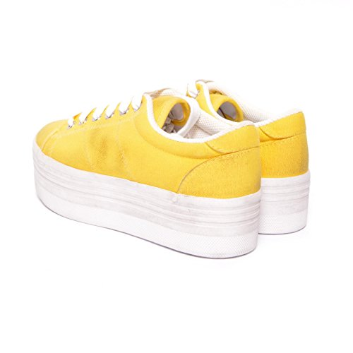 Jeffrey Campbell , Damen Sneaker Giallo